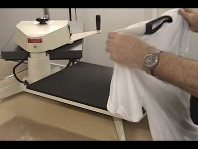 How to Sublimate a T shirt