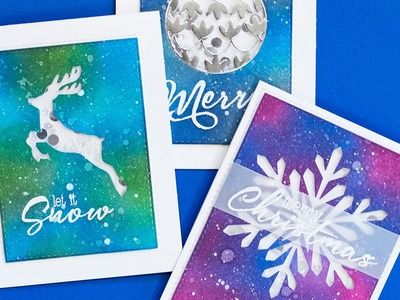 Inked Shaker Cards with Jennifer McGuire