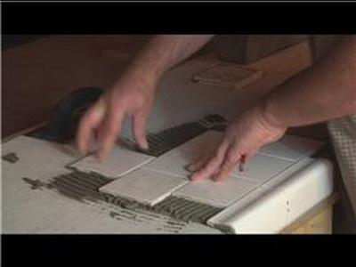 Kitchen Tile Basics : Putting Tile on a Wooden Kitchen Table