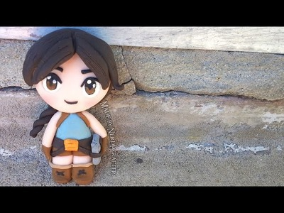 LARA CROFT TOMB RAIDER Chibi Polymer Clay Tutorial