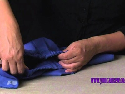 LEARN TO SEW SHORTS OR PANTS
