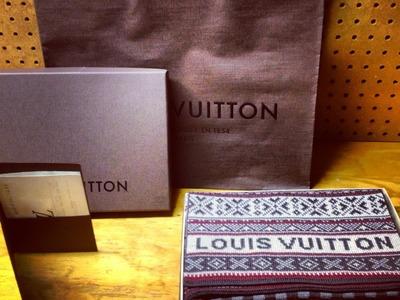 Louis Vuitton Flacon Wool Scarf