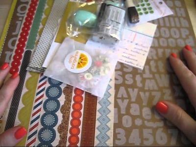 March Studio Calico Storyteller Kit & Add On's + mini haulage!