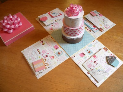 Mini Album  Birthday party in a box  #2 CHECK IT OUT!