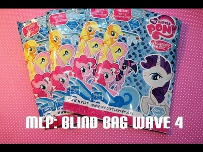 My Little Pony FiM - Blind Bags Wave 4