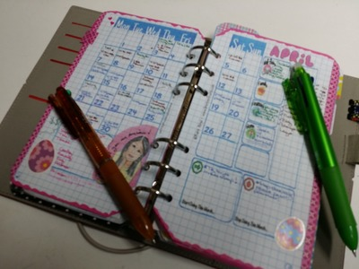 My Updated Bullet Journal Set Up in a Filofax Personal Domino