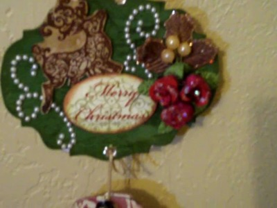 My wall hanging. .is hanging! lol  (Vid #222)