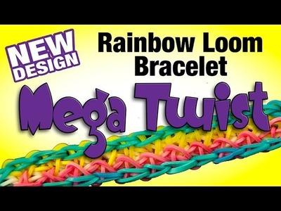 New Rainbow Loom Design - MEGA TWIST