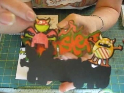 Our Monsters  ~ Handmade Cards by Jeannie Phillips ~ How to Video