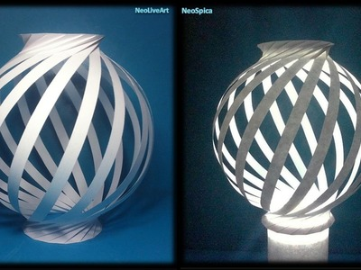 Paper Lamp Ball Twist Spiral 1
