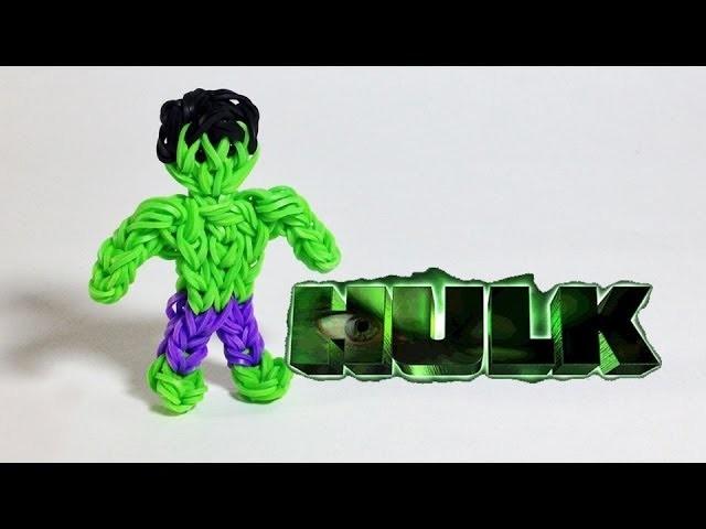 Rainbow Loom Avengers Series: Hulk