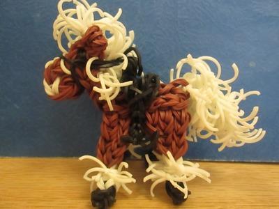 Rainbow Loom Horse or Pony Saddle Charm.