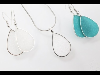 Resin jewelry tutorial: Open bezel technique with ArtResin