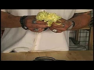Russ on Flowers Show #22 - How to Make A Carnation Corsage Or A Carnation Boutonniere