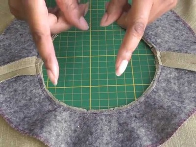 Sewing Facing to Curved Necklines