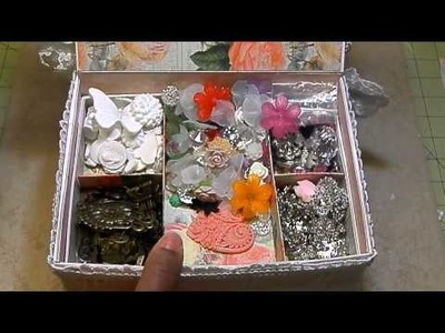 Shabby Chic Jewelry Box.Resin Tutorial