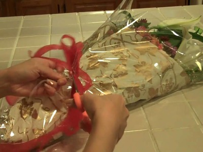 TOMOKO'S KITCHEN  Flower Wrapping