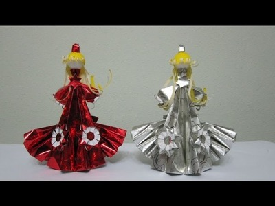 "TUTORIAL - How to make 3-D Paper Doll ""Starlight Princess"""
