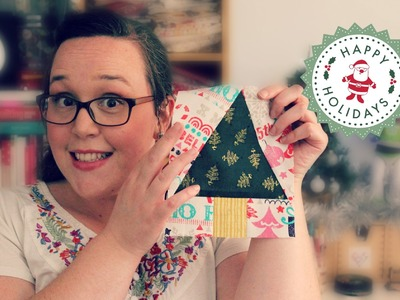TUTORIAL: Paper-Pieced Christmas Trees | 3and3quarters