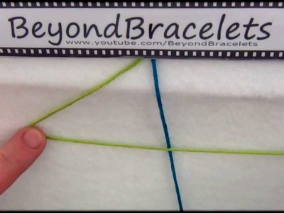 2► Bracelet Making 101 - The Forward Knot ( 4 )