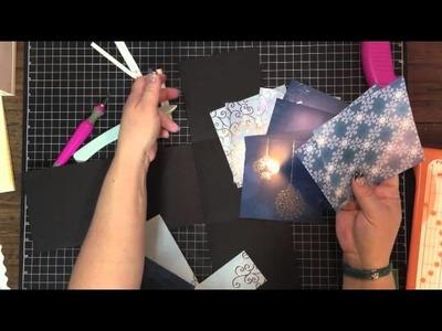 5x5 mini album tutorial