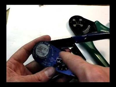 AMP CPC Series II D-sub pin crimping (closed barrel pins)