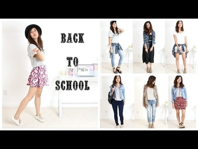 Back to School: Mix and Match Outfits!