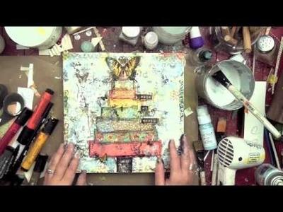 Christy Tomlinson Mixed Media Collage: December 2012 Kit