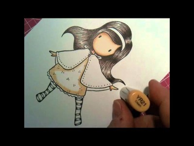 Coloring with Copic Time Lapse