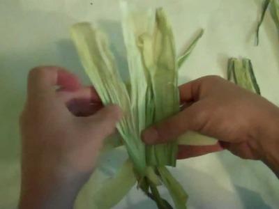 Corn Husk Doll Tutorial