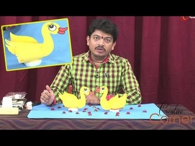 Creative Corner || How to Make Duck with Paper Cup