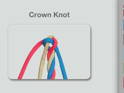 Crown Knot | How to Tie a Crown Knot