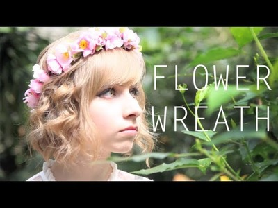 Cute Flower Head Wreath Tutorial