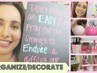 Dollar Tree Room Organizing & Decorating Ideas #2!!! (LAURAXOBELLEZA)