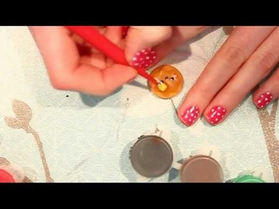 ◕‿◕ Kawaii Friday 11- Pancake! (tutorial in Polymer Clay)
