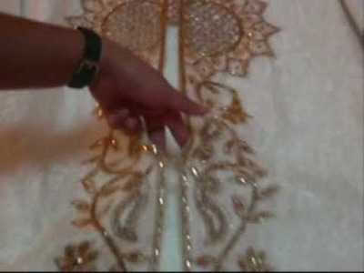 Exclusive Handmade Embroidered Abayas . Fashion trend 2010 #1007.wmv