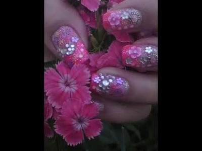 Fimo nail art collection