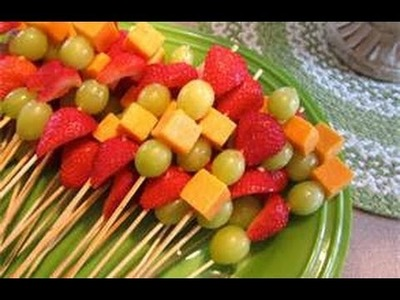 Fruit Kabobs by The Frugalnista!