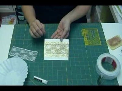 Glitter Lace Tutorial from Scrap 'n Stamp