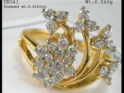 Gold Rings Designs By Vardhman.wmv