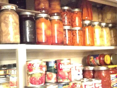 Great ways to store your FOOD STORAGE! Part 1- Canning