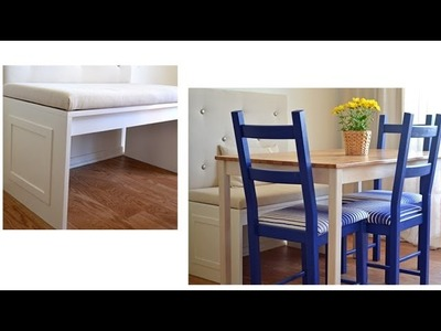 How to build a bench for a banquette - Season 2 - Ep 5 part 1