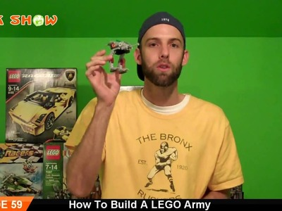 How To Build A LEGO Army