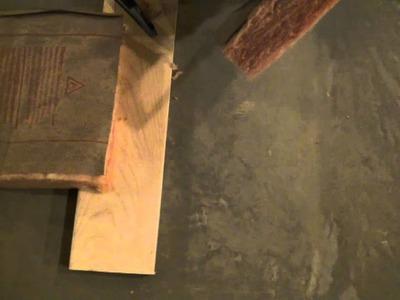 How To Cut Fiberglass Insulation