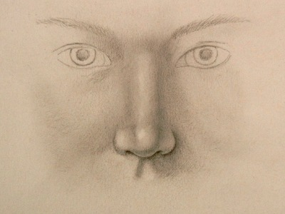 How to Draw a Realistic Nose