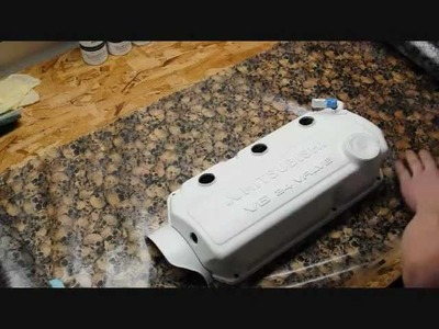 How-To: Hydrodipped Valve Cover