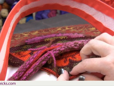 How to Line the East Meets West Bag Part 8: Attaching Magnetic Closures