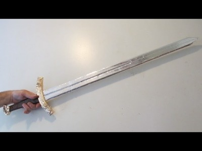 How to Make a Foil Tape Sword