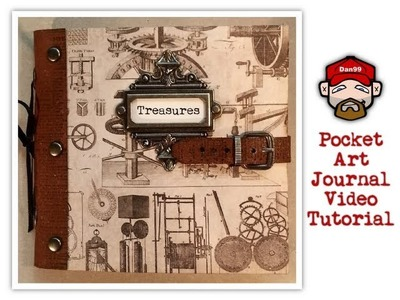 How to Make a Pocket Art Journal