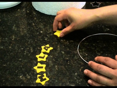 How to make a simple wire cake topper